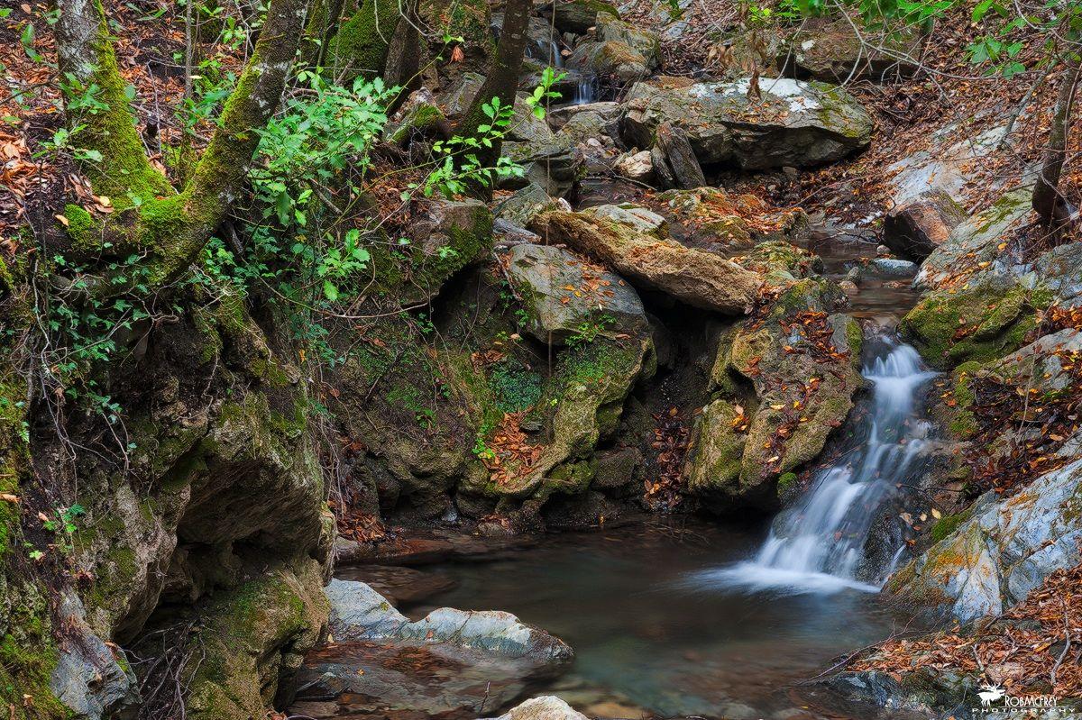 Rio Ermolinus, small waterfall - Montarbu...