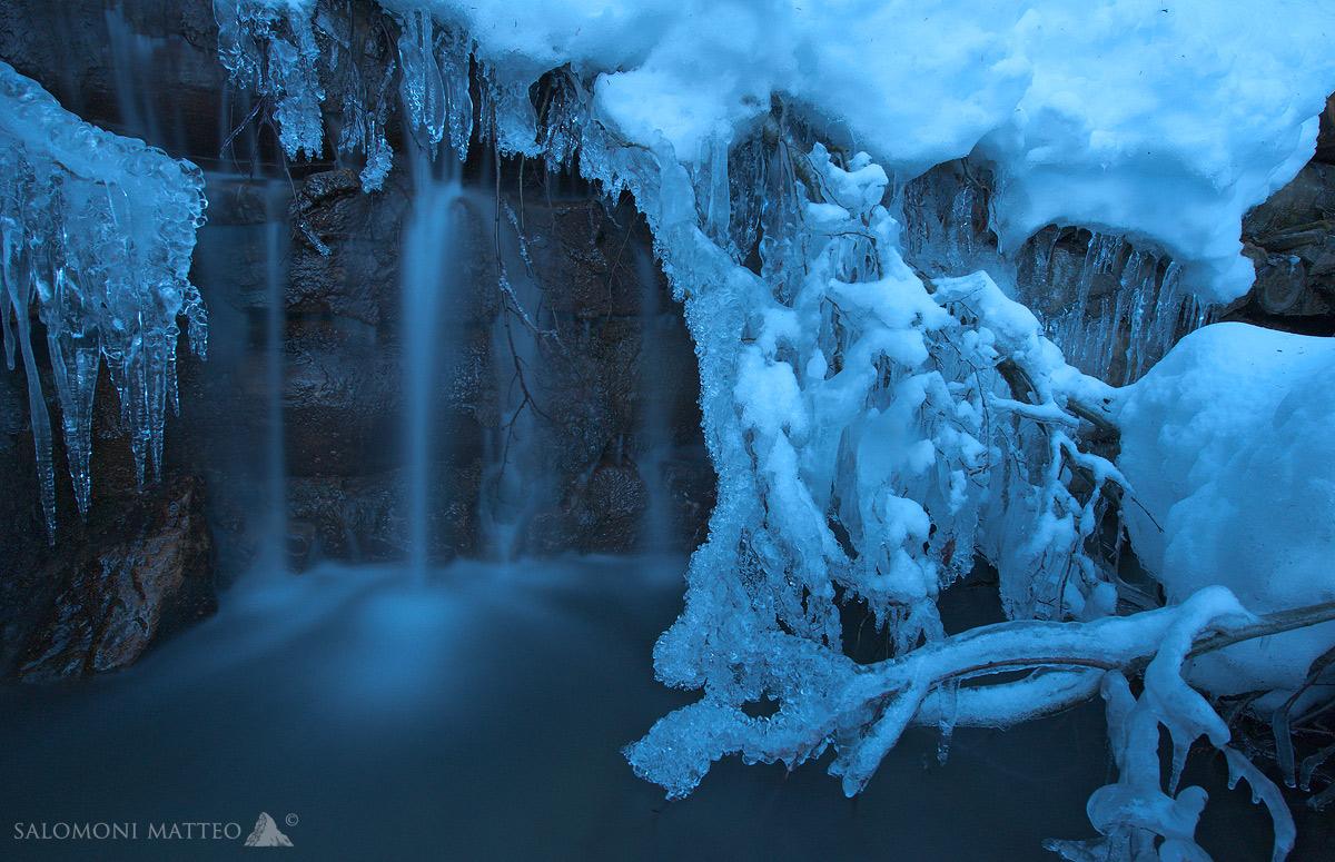 blu ice...