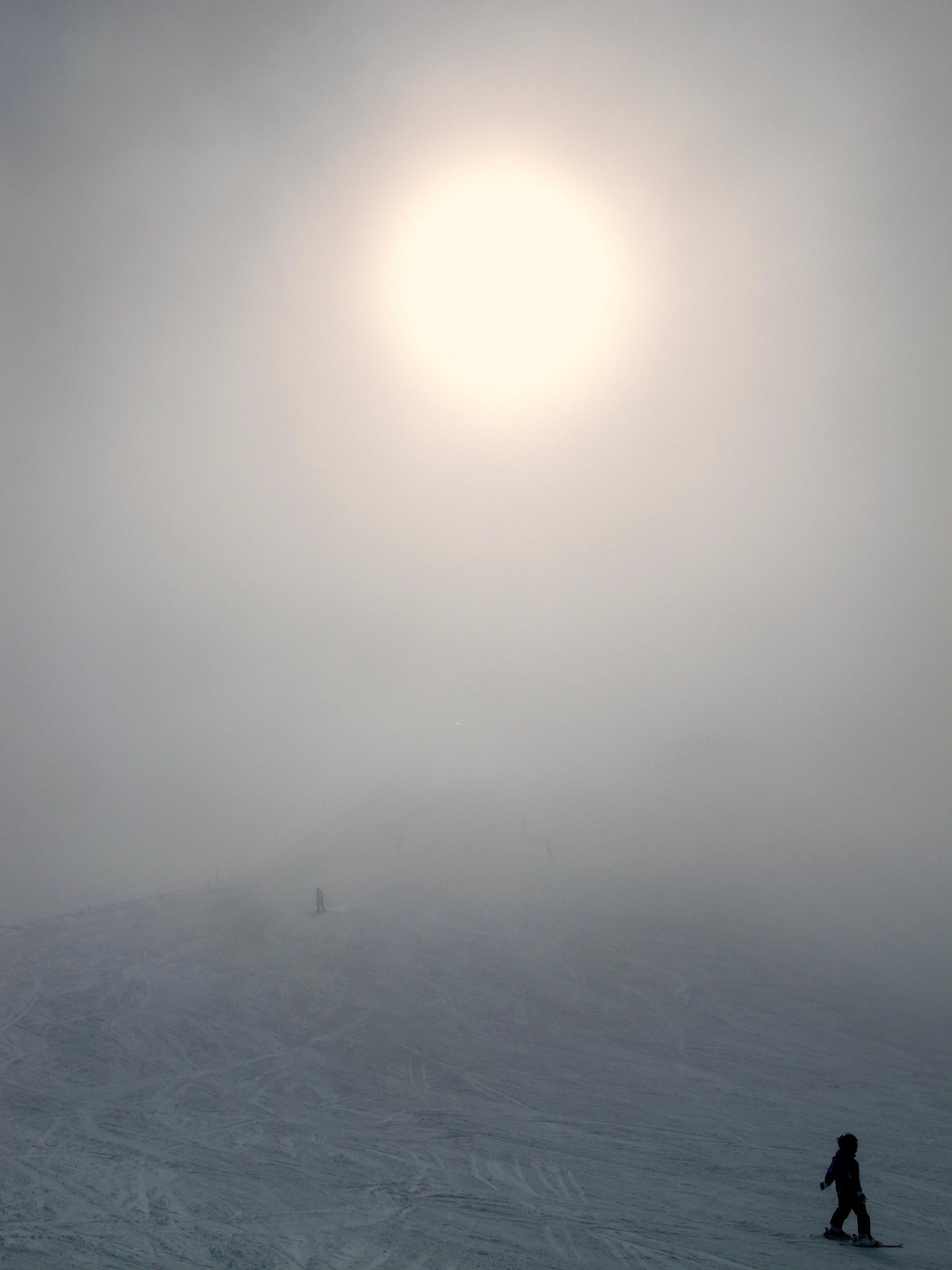 Bormio, nebbia...