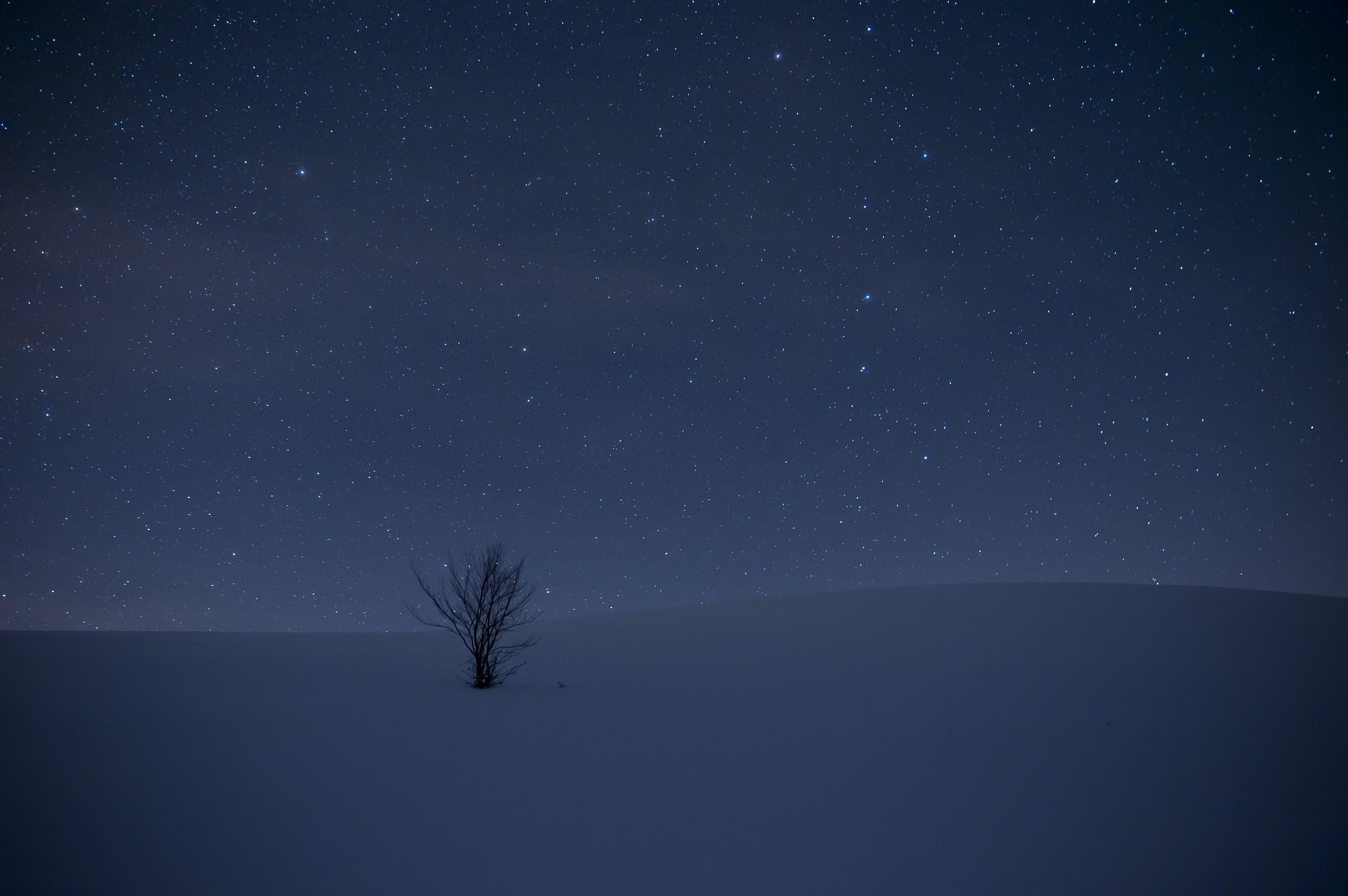 solo....sotto un mare di stelle...