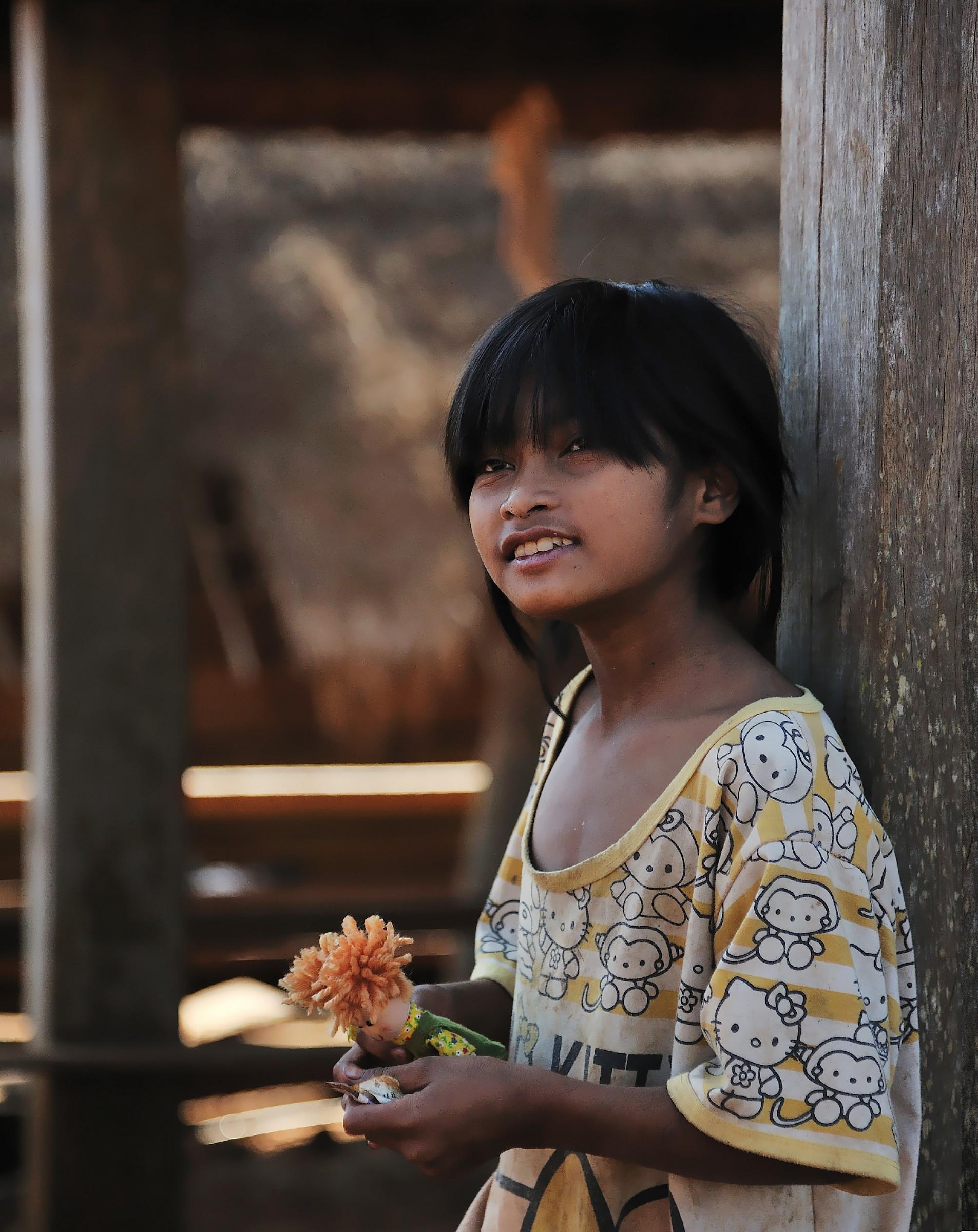 Khmer teen