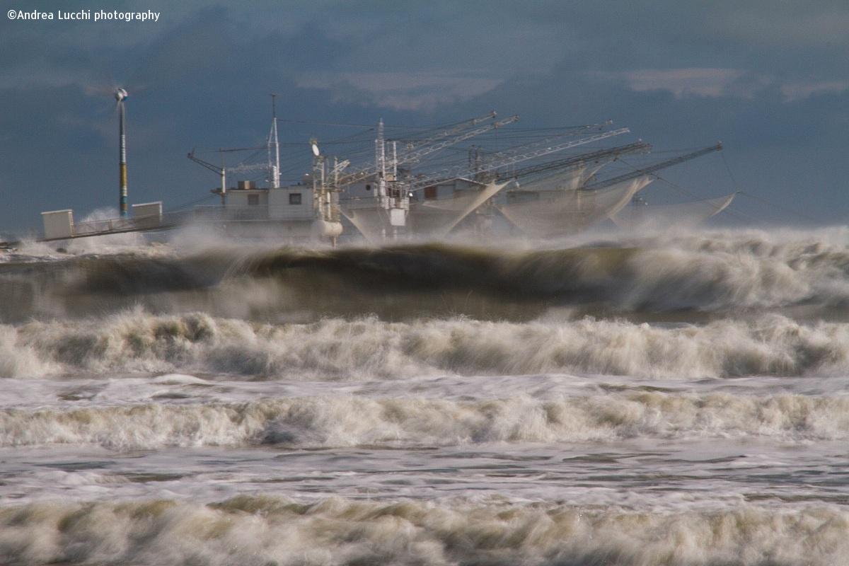 storm in Marina Di Ravenna...