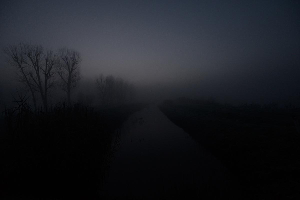 Channel in the marsh...