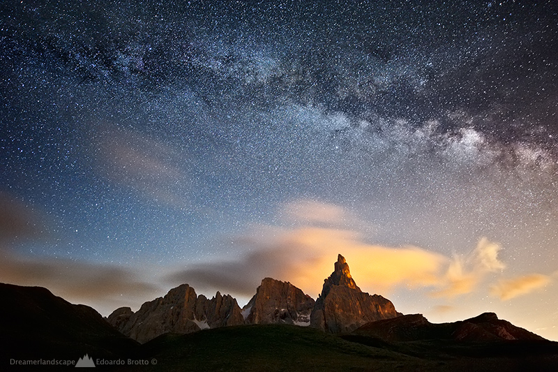 Milky Way - Cimon della Pala...