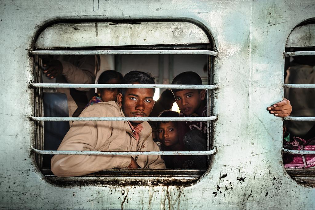 Trains, India...