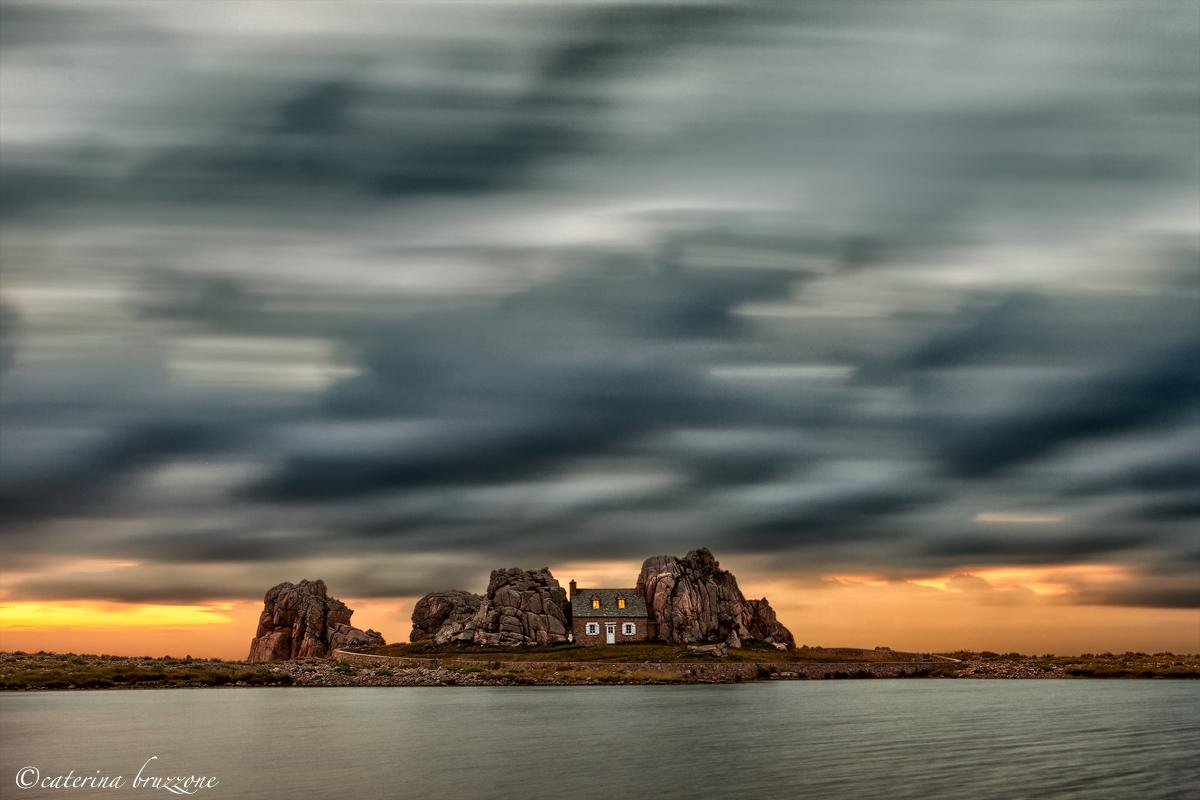 La casa tra le rocce...