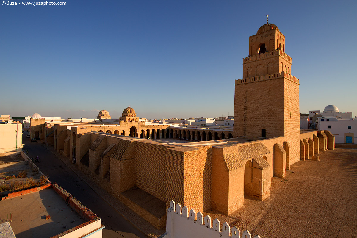 Tunisia Moschea Kairouan Moschea di Kairouan 012753
