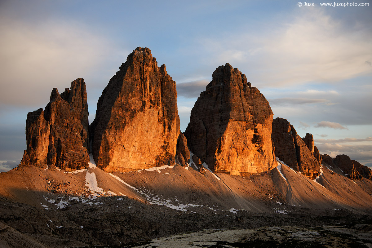Tre Cime al tramonto, 014304...