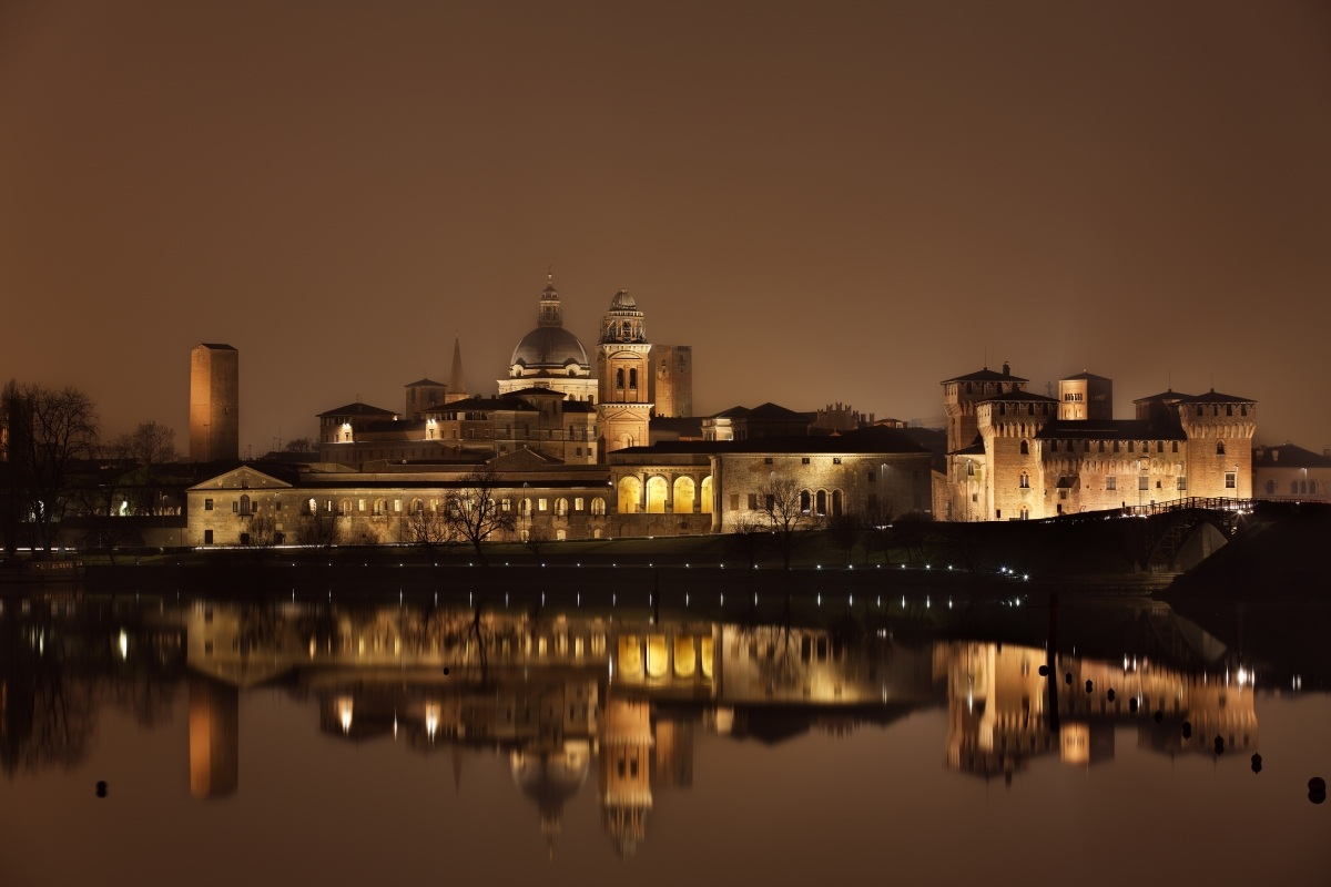 Mantova is reflected...