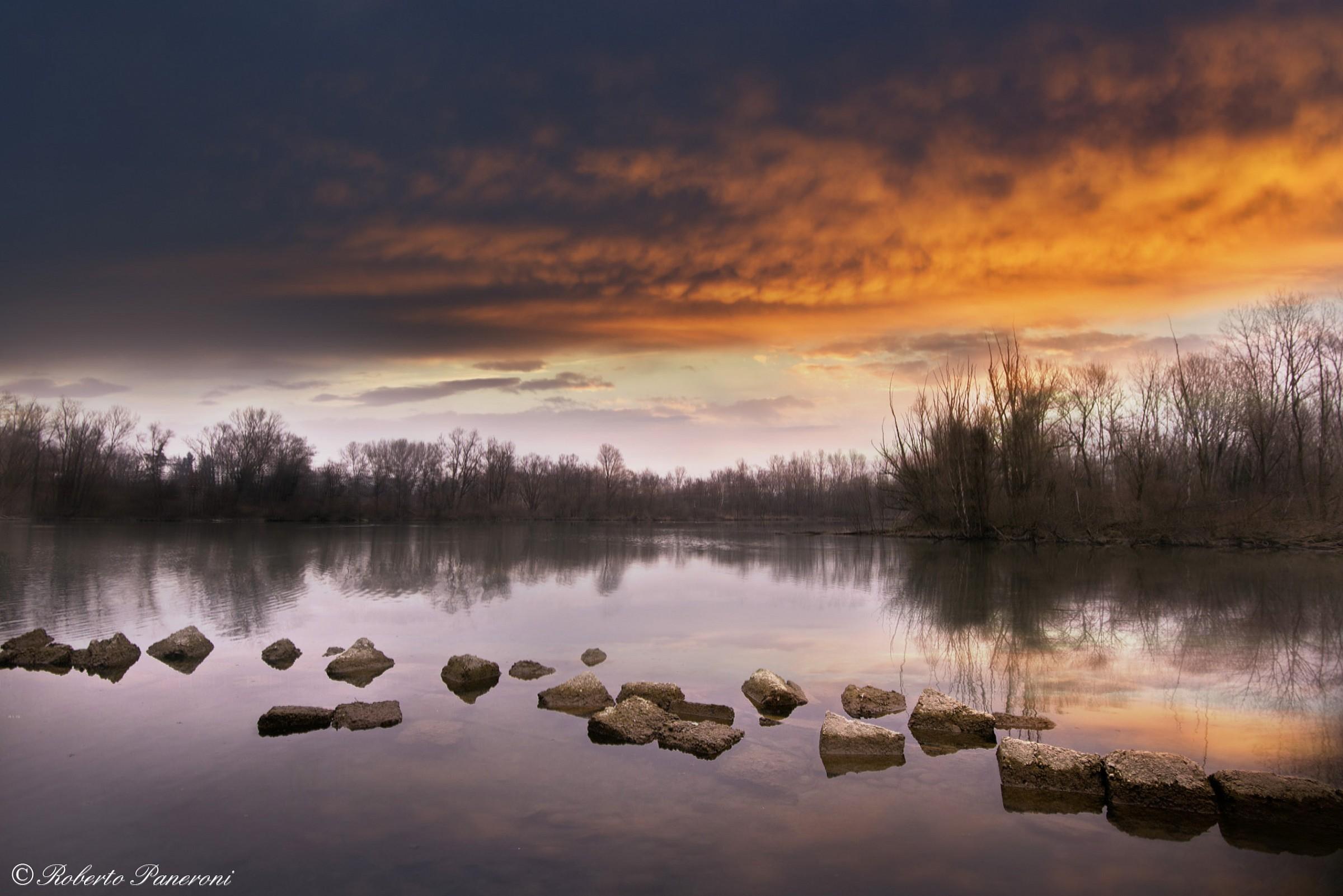 scorcio fiume Adda...