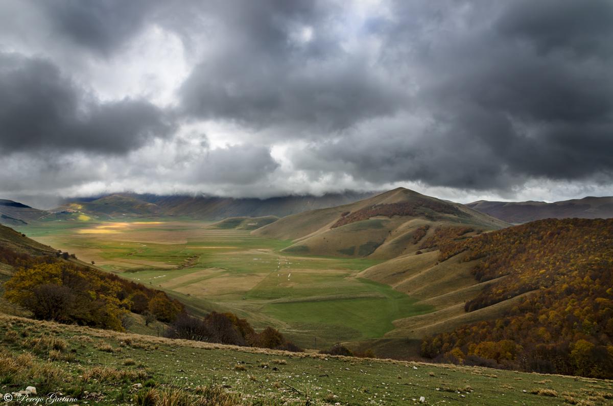 Plateau of Castelluccio...