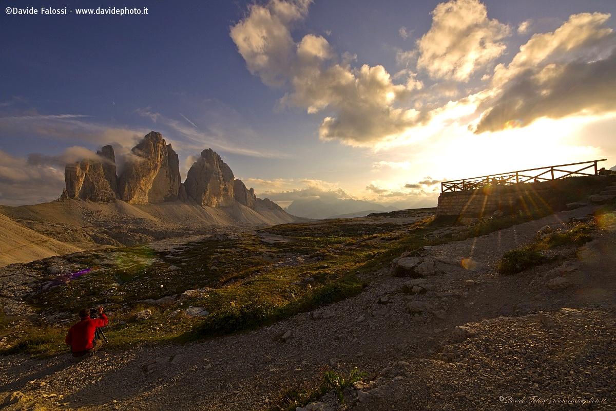 Sunset Dolomites...