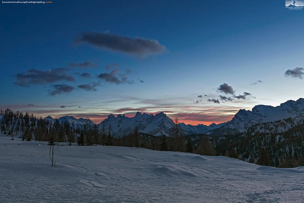 Dolomites sunset...