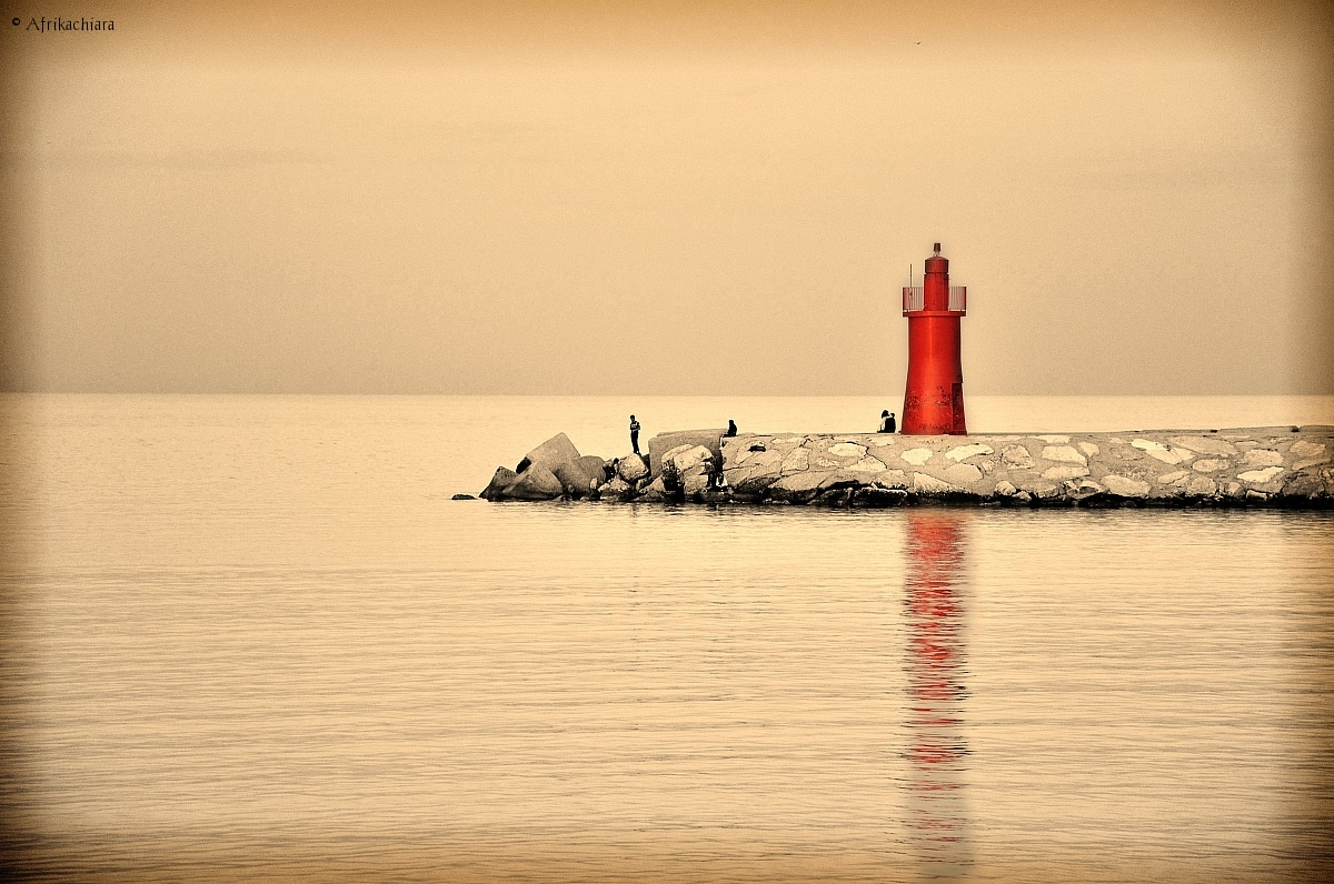 The red lighthouse...