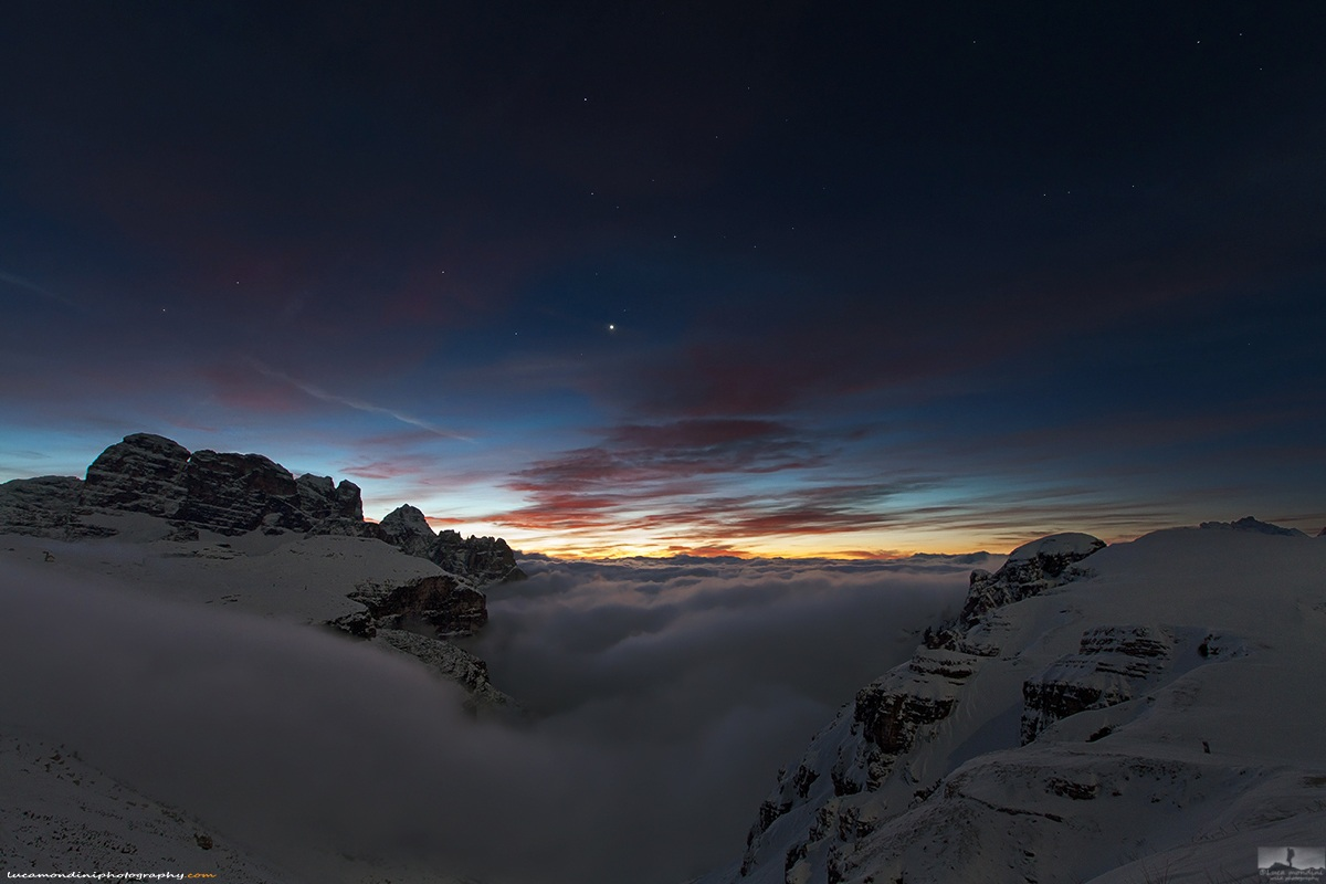 Dolomites sunrise...