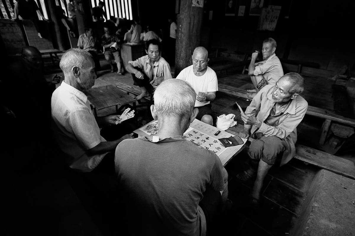 The addiction to gambling. China....