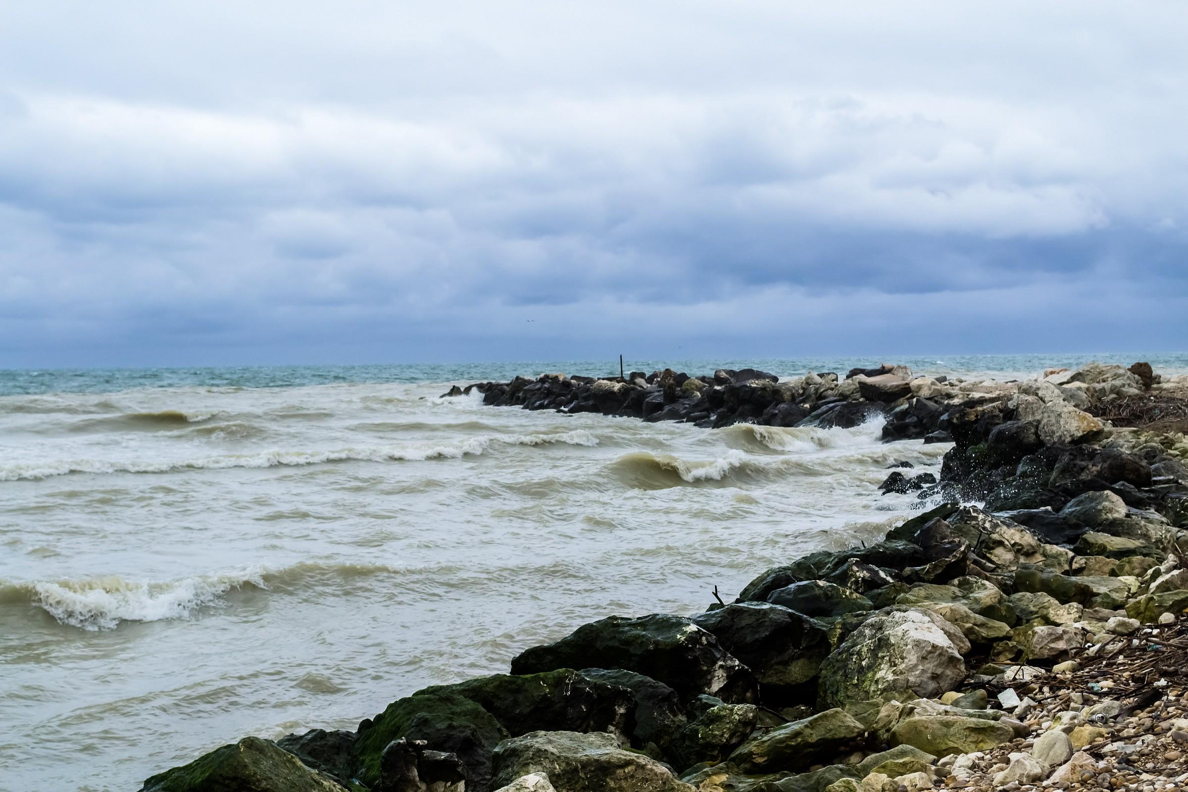 river and sea...