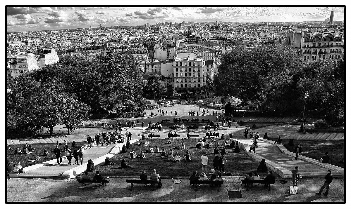 view from Montmartre...