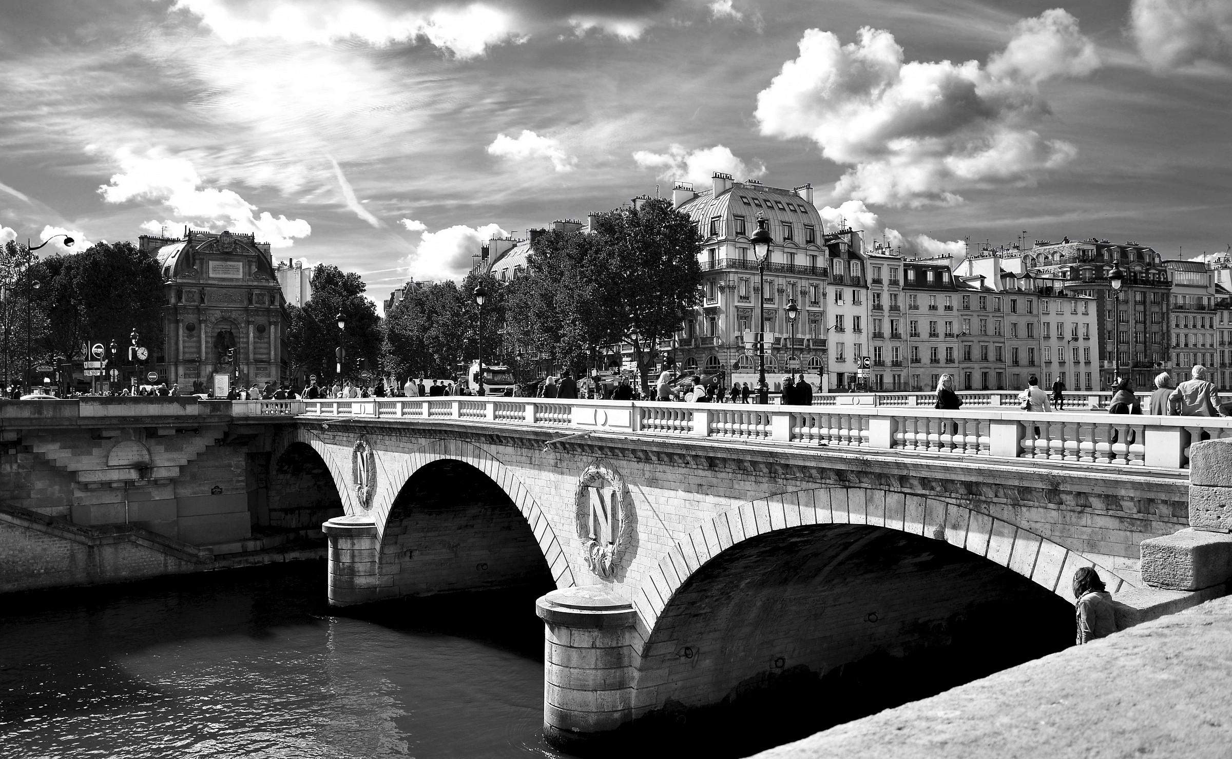 bridges of Paris...
