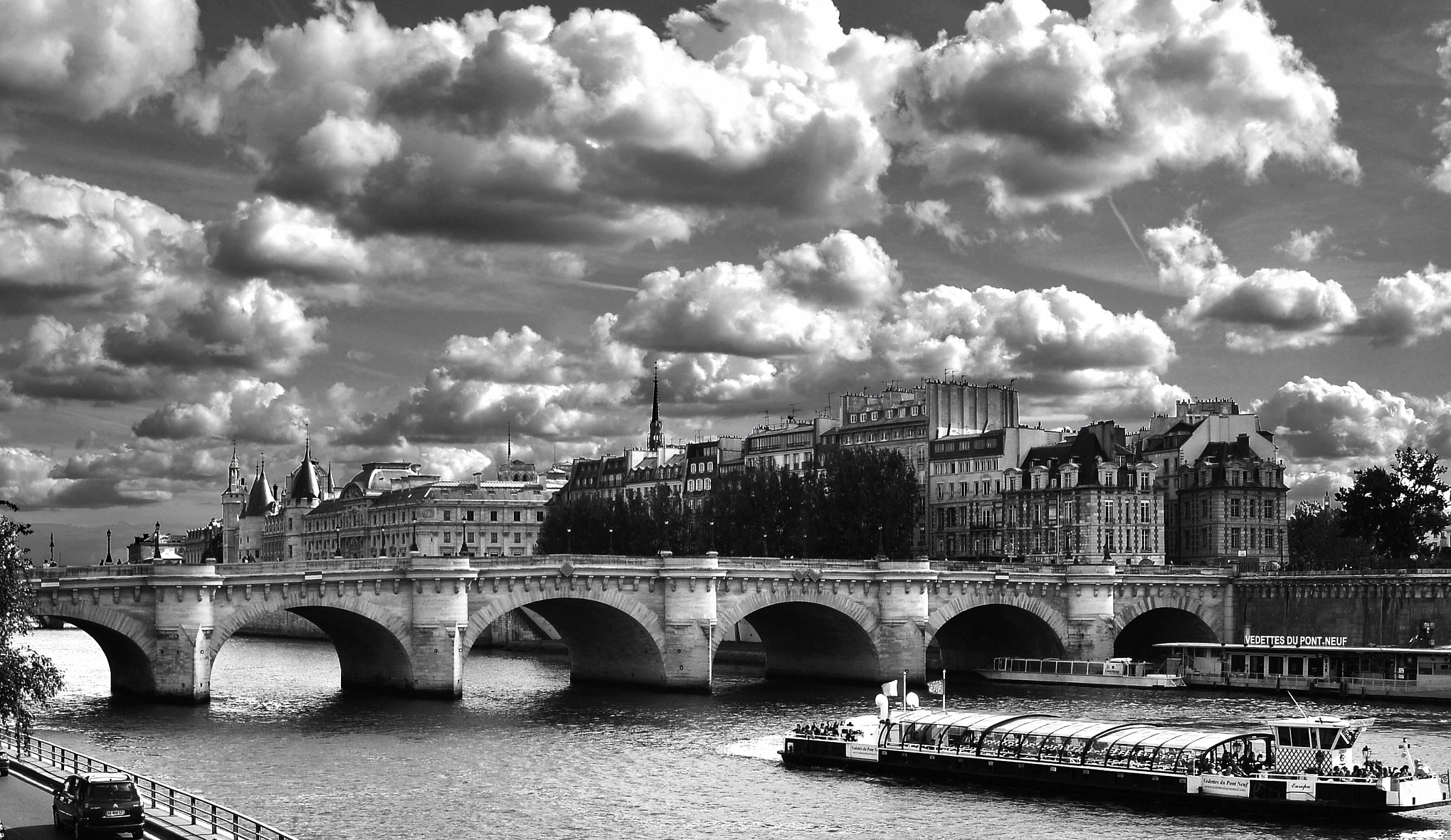 ile Saint Louis / ile de la Cite...