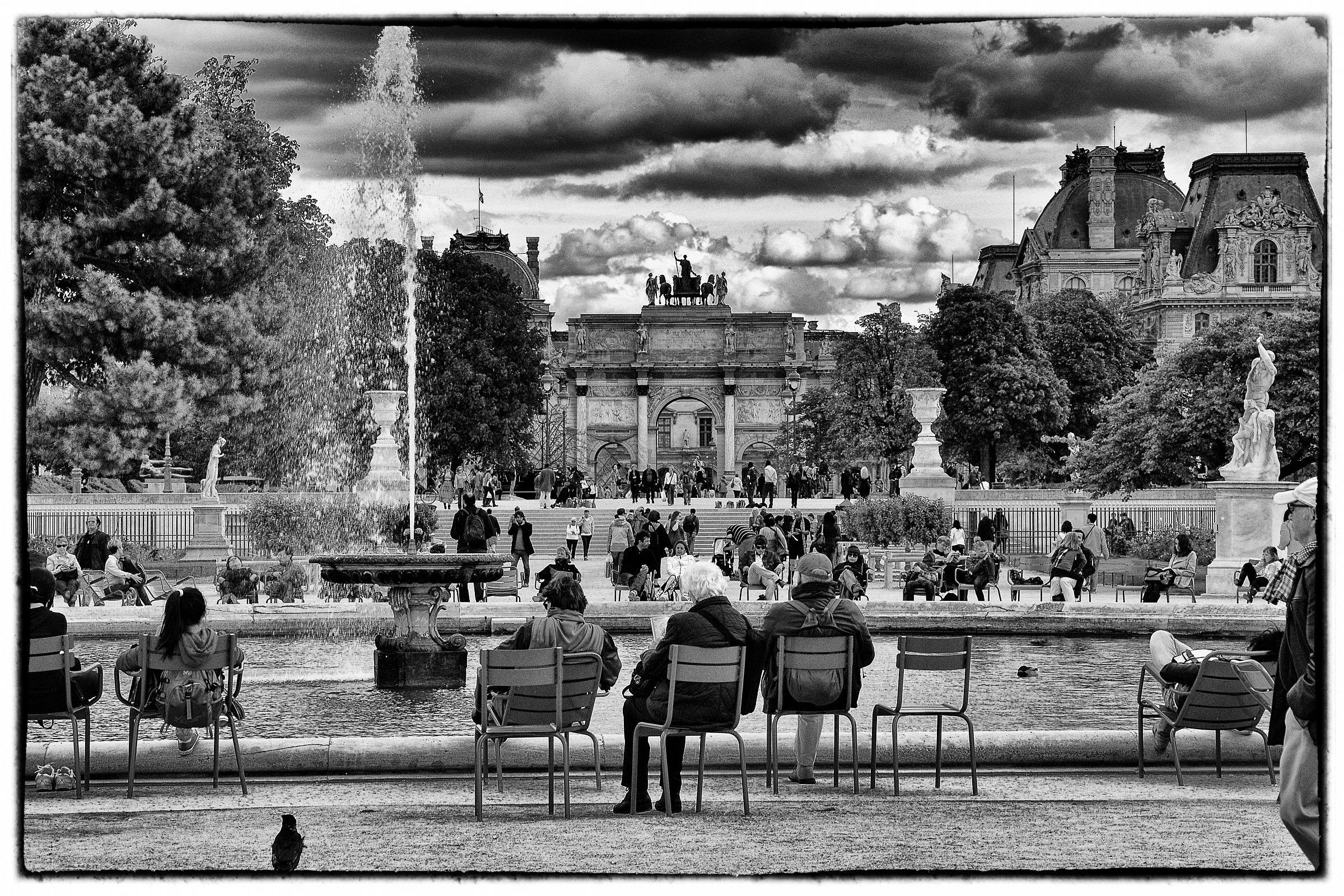 Tuileries Gardens, Paris...