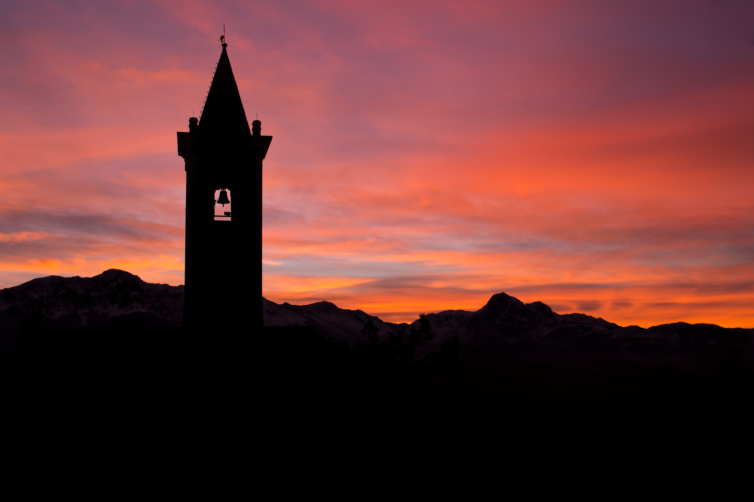 Bell tower...