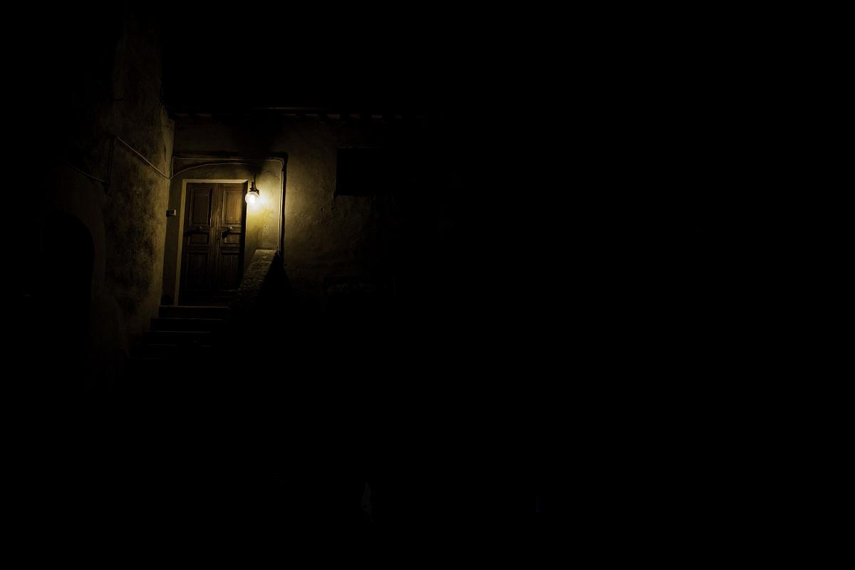 Outside is Dark...