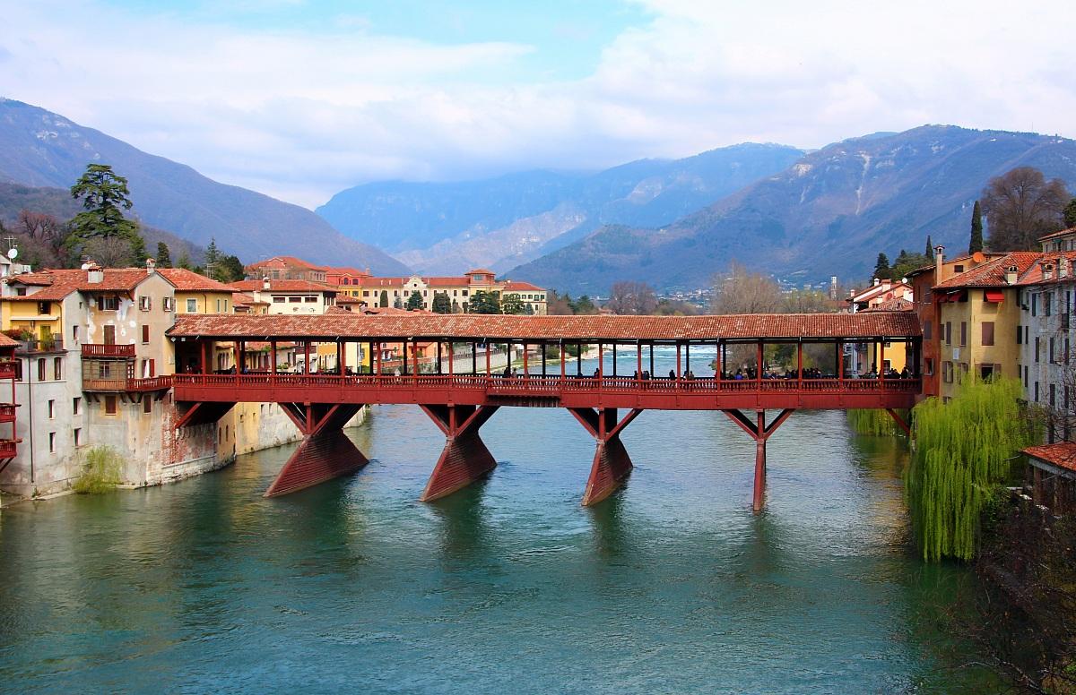 Bassano del Grappa - Ponte Vecchio inviata il 08 Aprile 2013 ore 9:28 ...