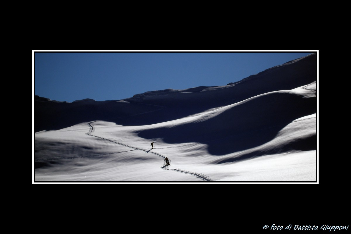 Ski touring on Orobie...