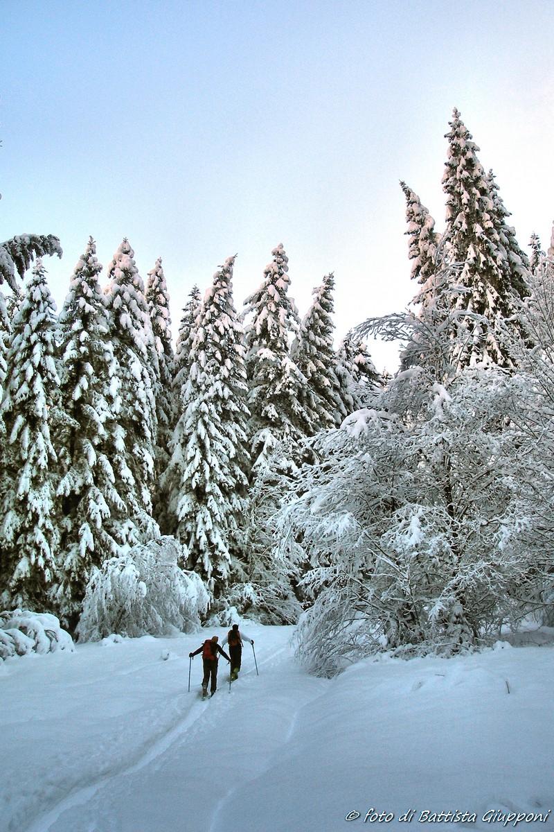 Ski touring on Orobie...