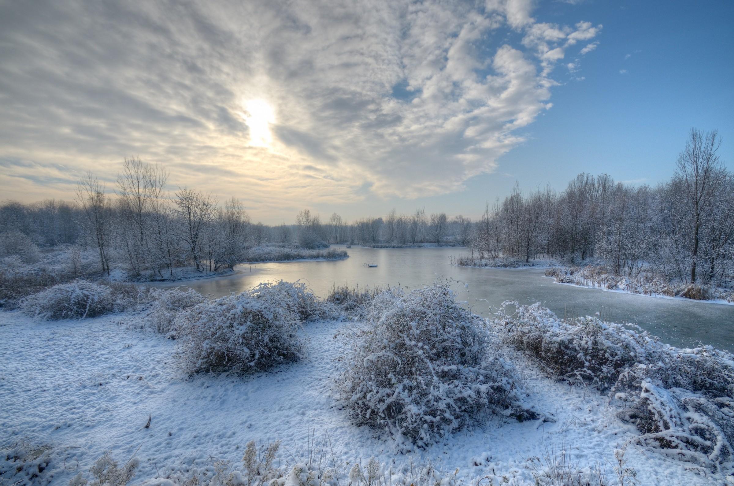 snowy landscape oasis Lipu Cesano Maderno...