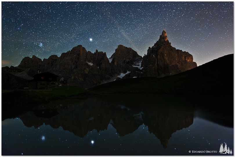 Goodnight Dolomites...