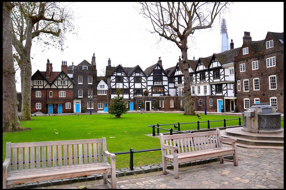 Near Tower of London...