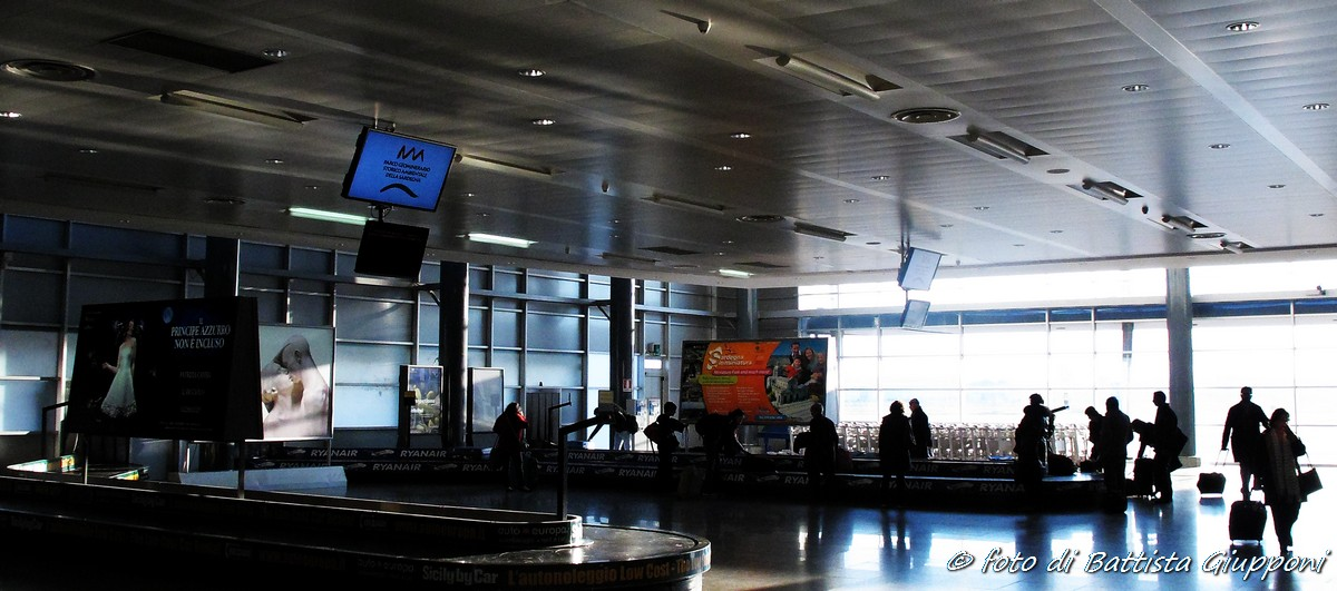 Arrival - Cagliari...