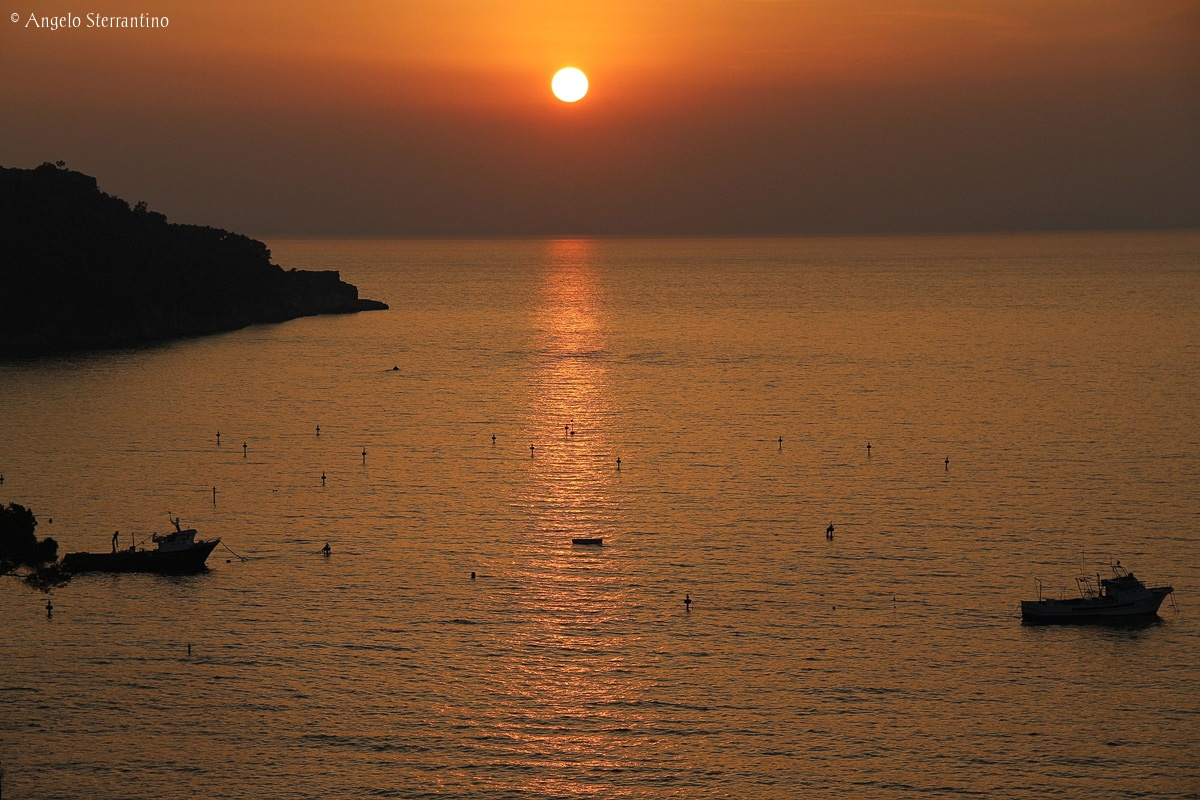 Sorrento - sunset...