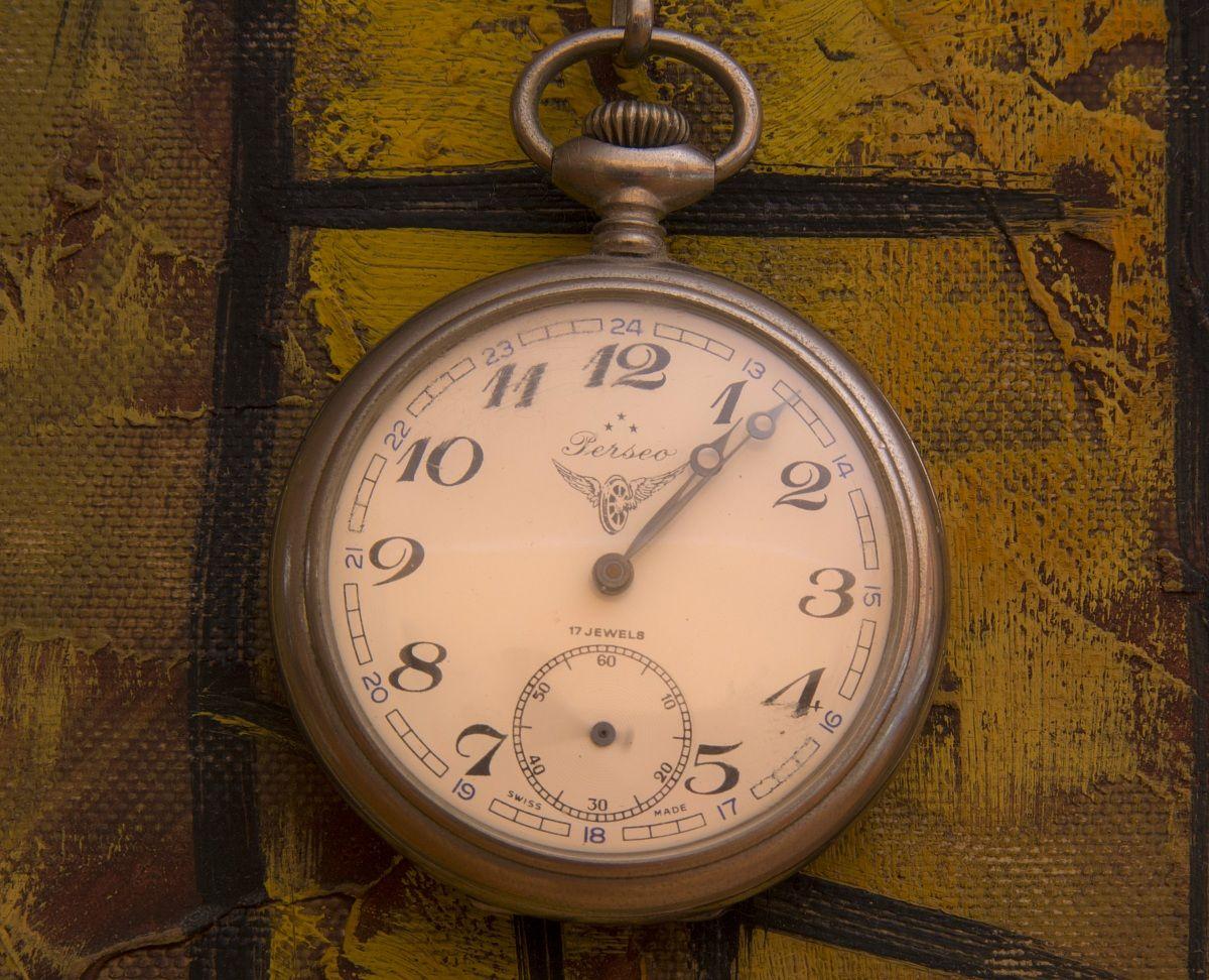 Pocket watch...