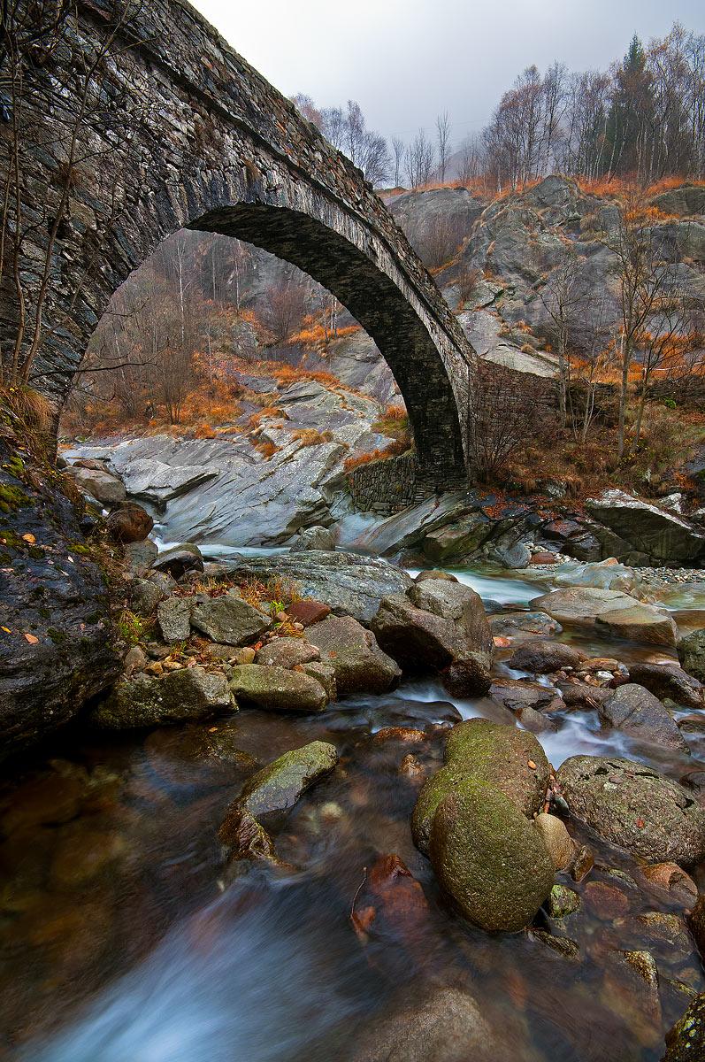 Un ponte sul Chiusella...