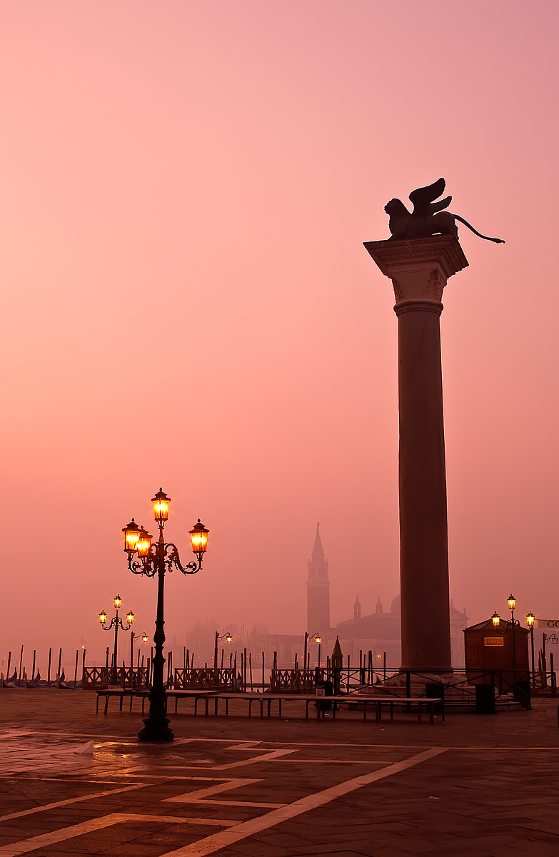 Sunrise in Venice (Venezia)...