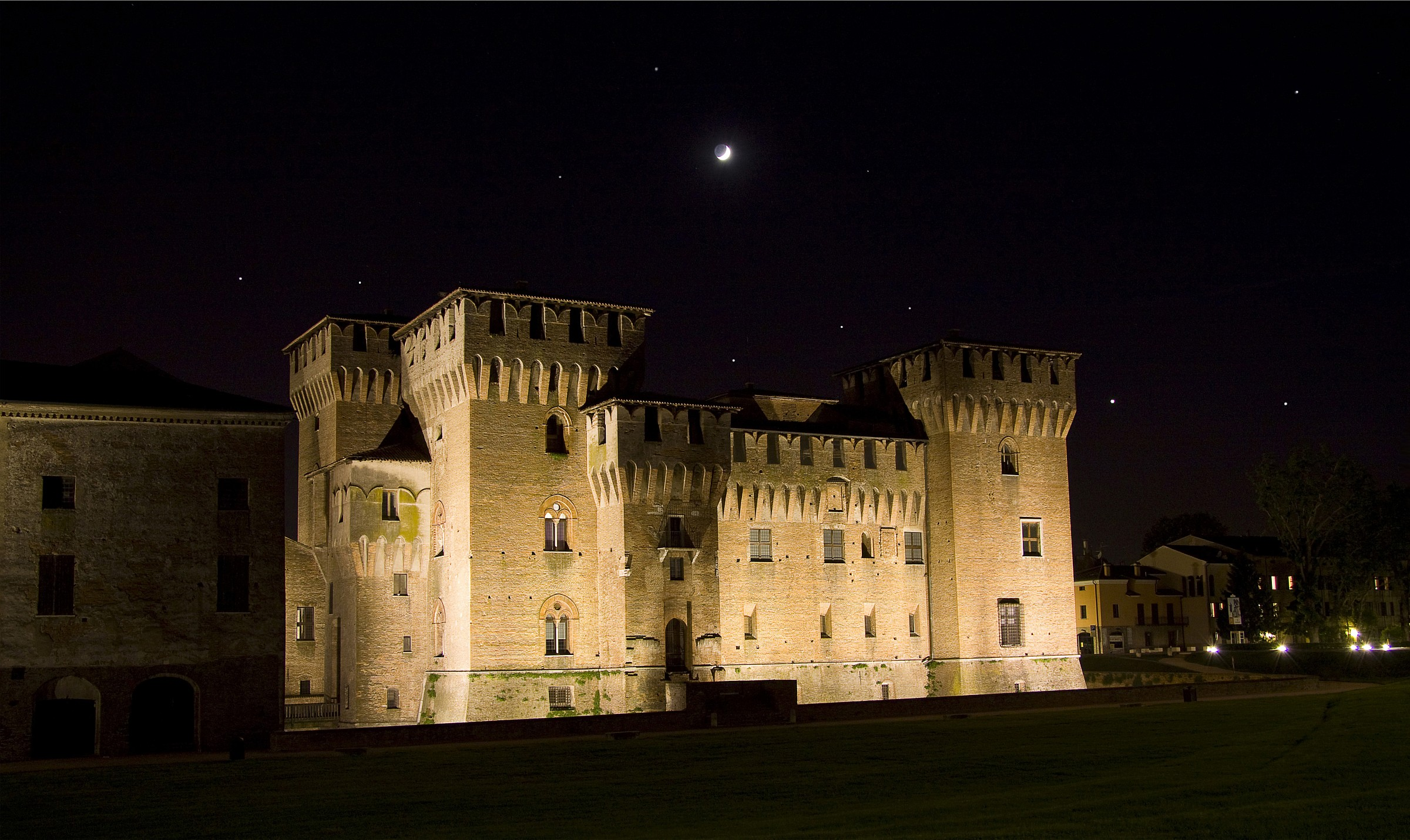 Starry night at the castle...