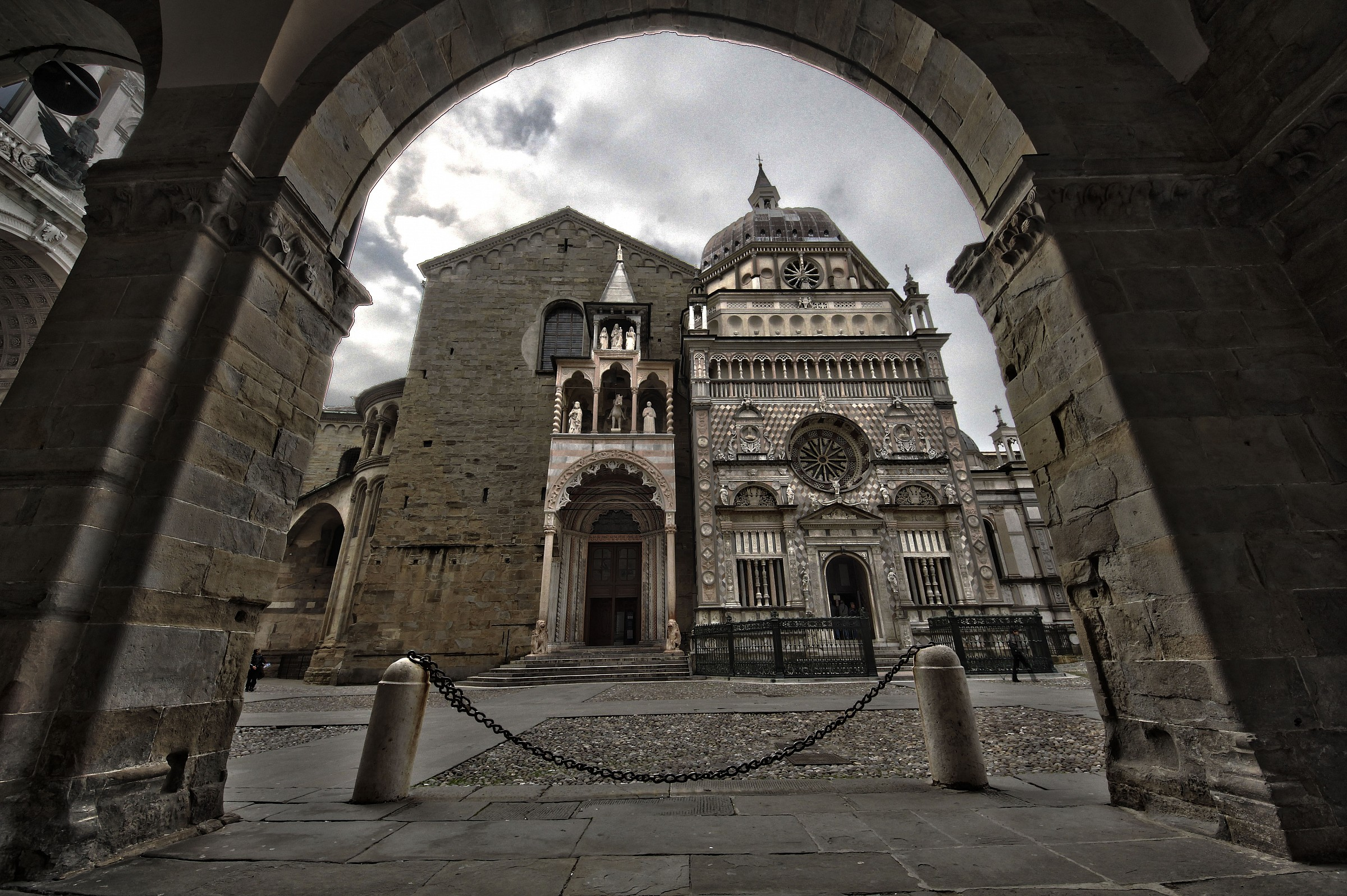 Bergamo Cathedral...