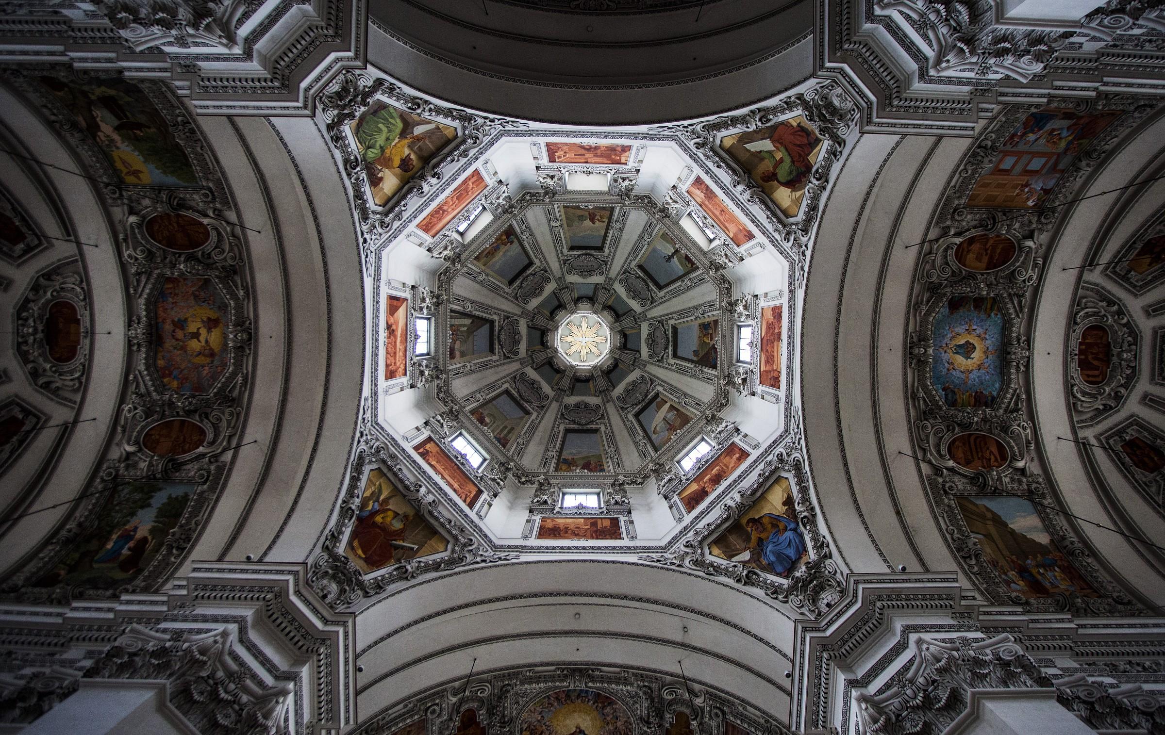 Salzburg Cathedral...