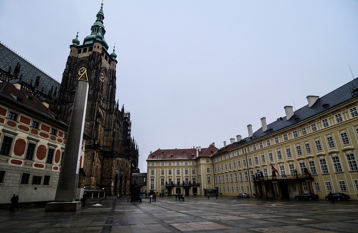 Praga, Piazza del municipio...