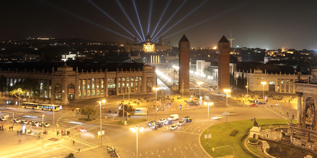 Barcelona by night...