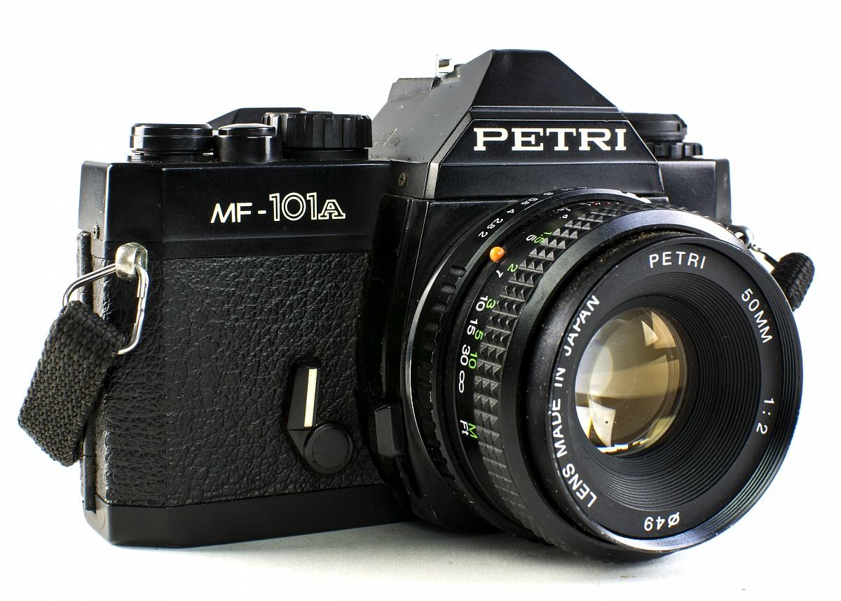 Petri mf-101a del 1976...