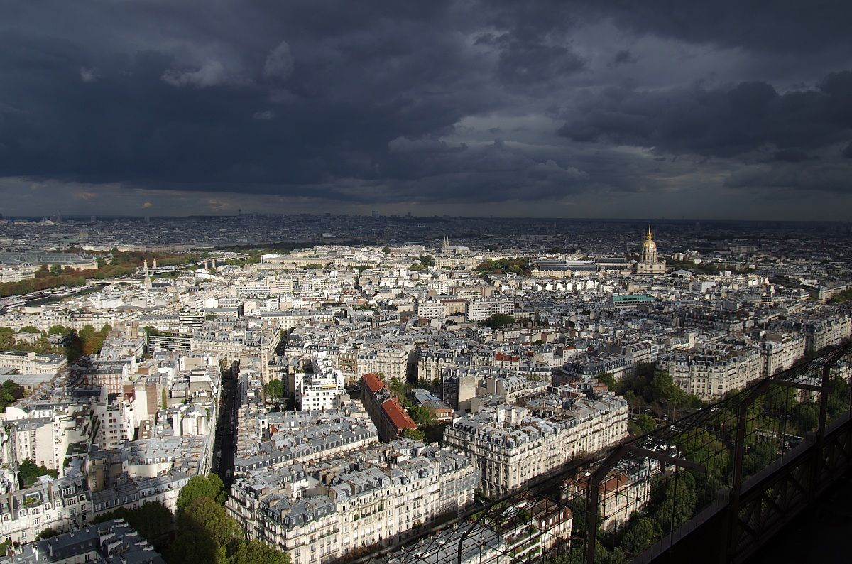 Paris after the storm...