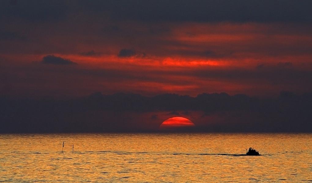 Il pescatore di luce...