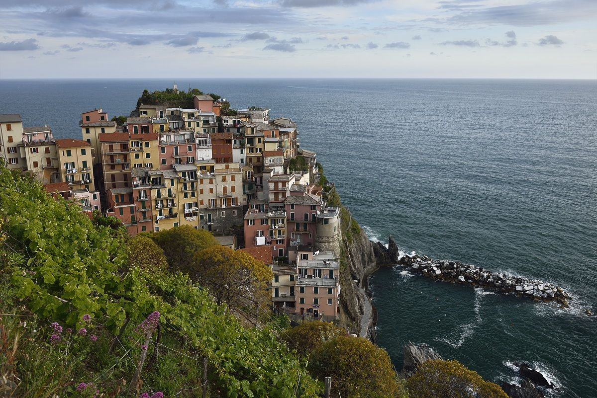 View of Manarola...
