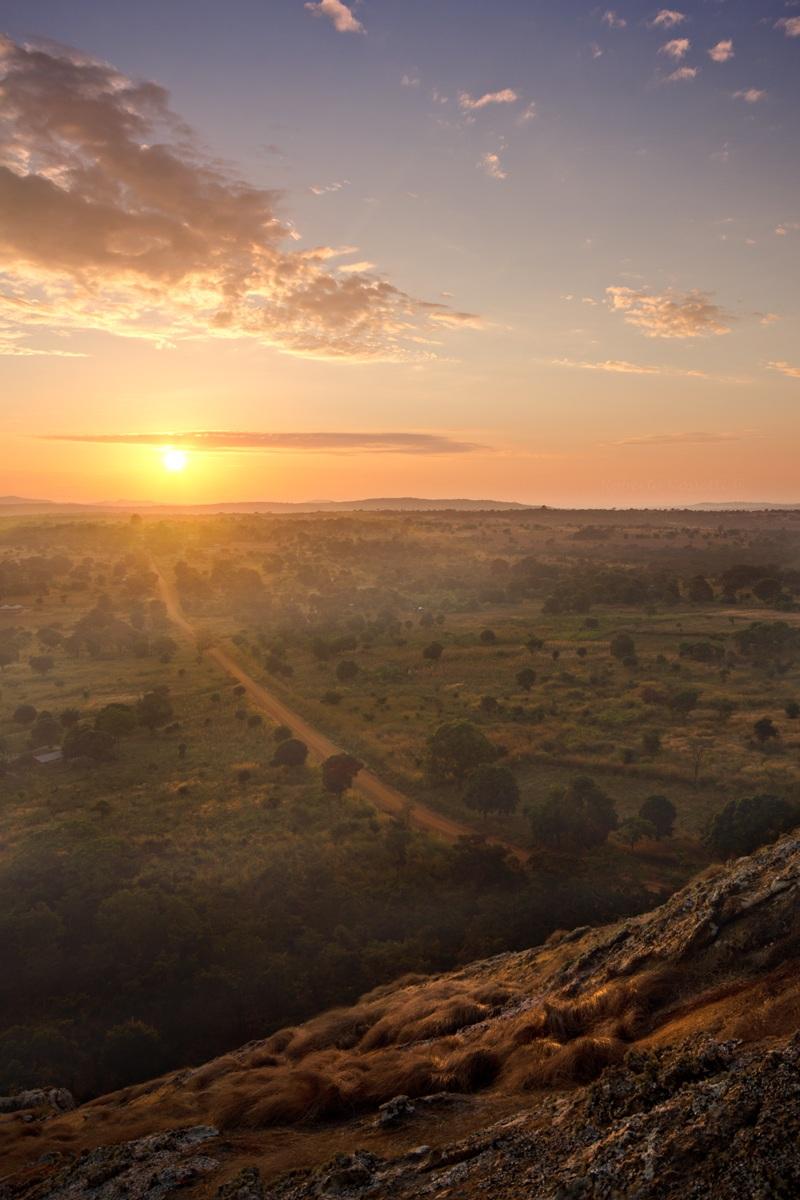 Sunrise in Tanzania...