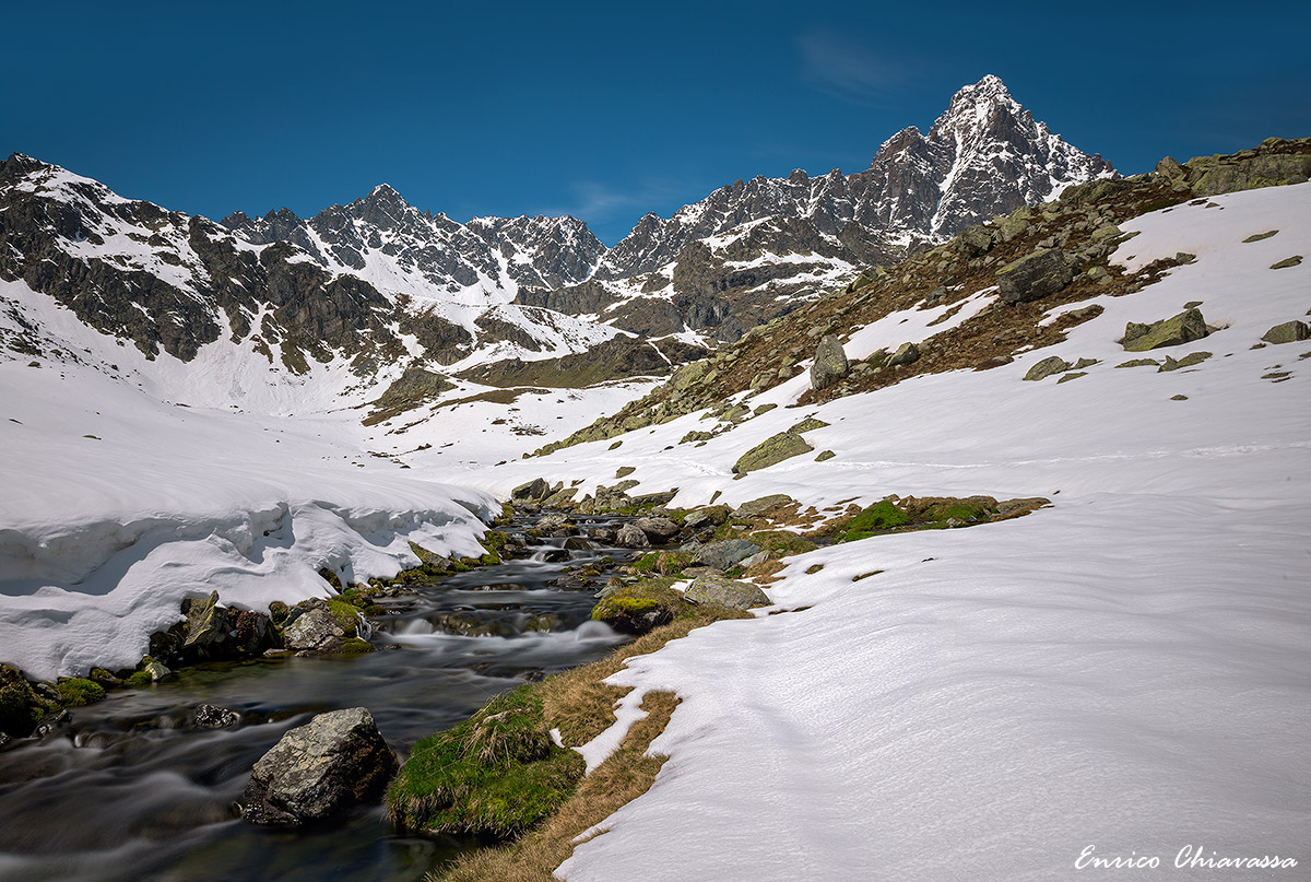 Unspoiled nature around the Monviso...