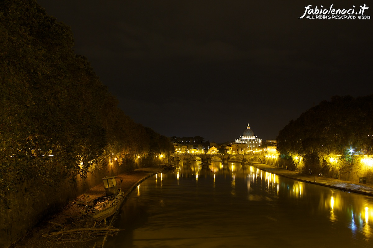 Peter seen from Ponte Umberto I...